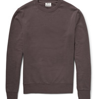 Acne Studios - Casey Loopback Cotton-Jersey Sweatshirt | MR PORTER