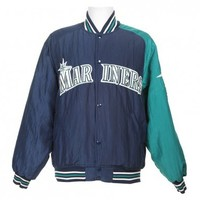 Seattle Mariners Baseball Coach Jacket - Vintage clothing from Rokit -