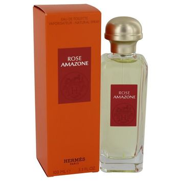 Rose Amazone by Hermes Eau De Toilette Spray 3.3 oz