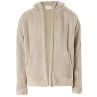 Indie Designs Fear Of God Inspired Sherpa Hooded Jacket