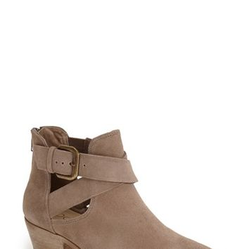 Women's Sole Society 'Evie' Open Side Bootie,