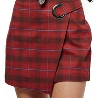 Free People Teenage Crush Plaid Miniskirt | Nordstrom