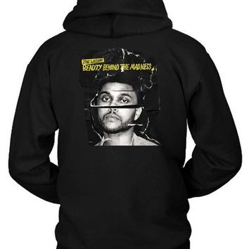 ESBH9S The Weeknd Beauty Behind The Madness Photo Cover Hoodie Two Sided