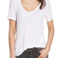 BP. Raw Edge V-Neck Tee | Nordstrom