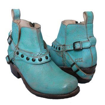 Germinate Boots - Teal Luxe by Bed Stu