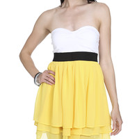 Sweetheart Tube 2fer Dress   Shop Clearance at Wet Seal