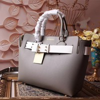 BURBERRY WOMEN'S 2018 NEW STYLE LEATHER HANDBAG INCLINED SHOULDER BAG
