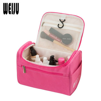 New  Women Travel Makeup Bag Multifunction Cosmetic Bags 2017 New Fashion Waterproof Storage Toiletry Bag Organizer Men