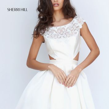 Sherri Hill 50682 Sides Out Party Dress | RissyRoos.com