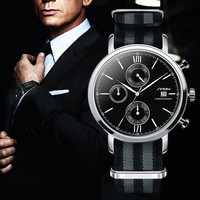 SINOBI Men's Military Sports Chronograph Wrist Watch -James Bond 007 Wristwatch