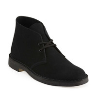 Desert Boot-Men in Black Suede - Mens Boots from Clarks