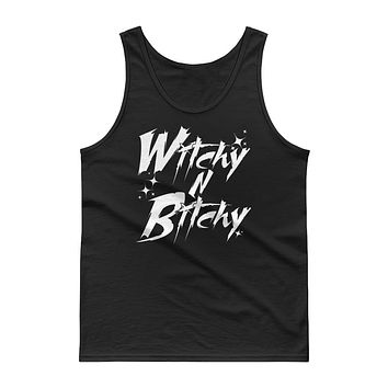 WITCHY N BITCHY Unisex Tank Top