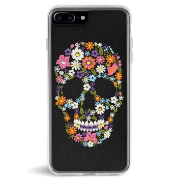 Calavera Embroidered iPhone 7/8 PLUS Case