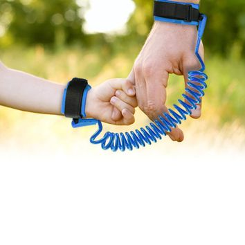 Child Wrist Leash Toddler Baby Adjustable Kids Safety Harness Pet Band Anti Lost Link Traction Rope Safety Wristbands