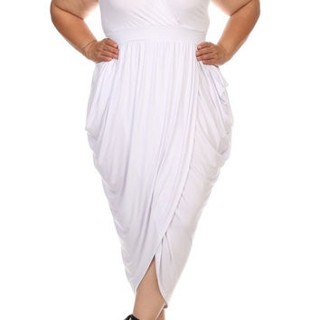 Grecian Maxi Dress - Curveceous