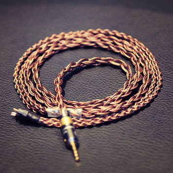 Vitesse Cryo 7N CGOCC-A Pure Copper Earphone Cable