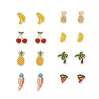Fruit Stud Earring Set