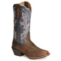 Sheplers: Justin Stampede Punchy Cowboy Boots