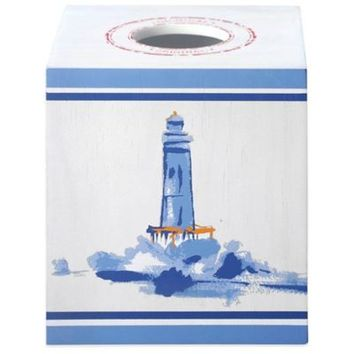 J. Queen New York Voyage Boutique Tissue Box Cover
