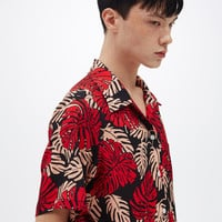 [13MONTH] 16 SS BIG LEAF 2/1 SHIRT
