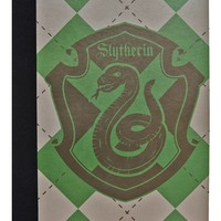 Harry Potter Slytherin Notebook