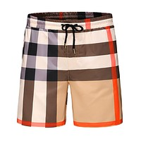 BURBERRY Summer Trending Men Casual Sports Running Beach Shorts