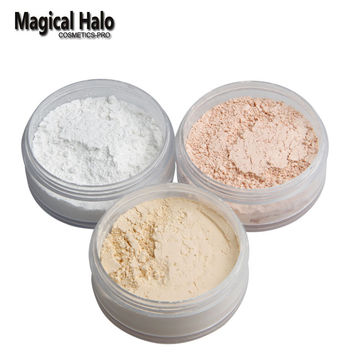 Magical Halo Make Up Primer Loose Powder with Puff Setting Powder Poudre Libre Oil-control Finishing Powder Matte Banana Powder