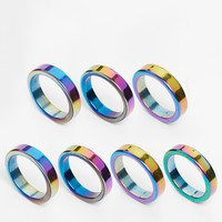 Only Child Iridescent Mixed Ring Multipack