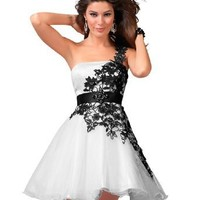 Clarisse Short Strapless Baby Doll Lace Dress 1511
