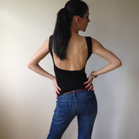 Tank Top with Open Back - Free US Shipping - Donation to Unicef - Item MM-BLT35990B0