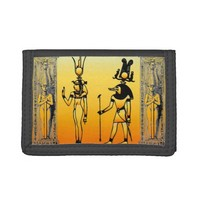 Egyptian Hieroglyphics Wallet