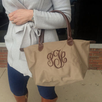 Monogram TAUPE Champ Purse Font Shown MASTER CIRCLE in brown