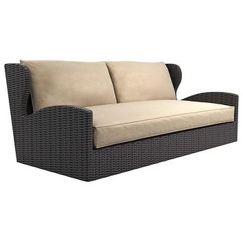 2016 Sofa Furniture High Back Deep Seating Outdoor Rattan Furniture Couch