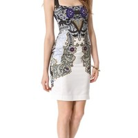 Just Cavalli Baroque Sleeveless Dress | SHOPBOP