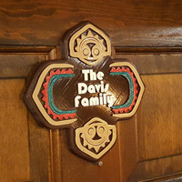 Personalized Walt Disney World Polynesian Inspired Family Last Name Sign/Plaque