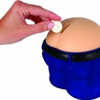 Amazon.com: Fanny Bank Funny Farting Coin Drop Bank: Home & Kitchen