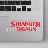 Stranger Things Decal, Macbook, Laptop, Tablet, iPad, Yeti, Tumbler, Coffee Cup, Car, Window, Mixer