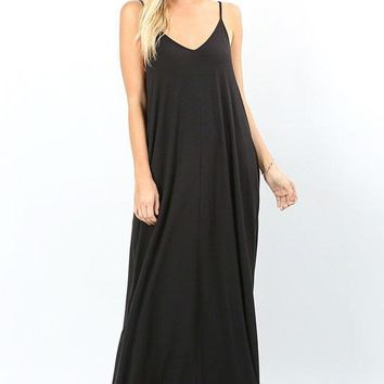 Essential Cami Maxi Dress - Multiple Colors!