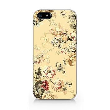 Vintage Embroidery Floral iPhone 5 5S case, iPhone 4 4S case, Free shipping, M449