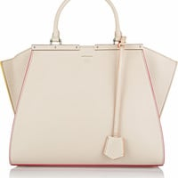 Fendi - 3Jours medium textured-leather tote