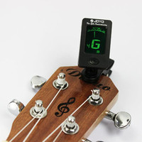 Electric Clip-On Guitar Tuner Digital Chromatic Bass Violin Ukulele LCD display
