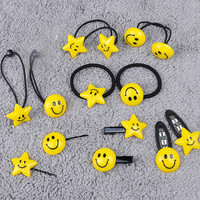 Smiley Face Hair Accessory