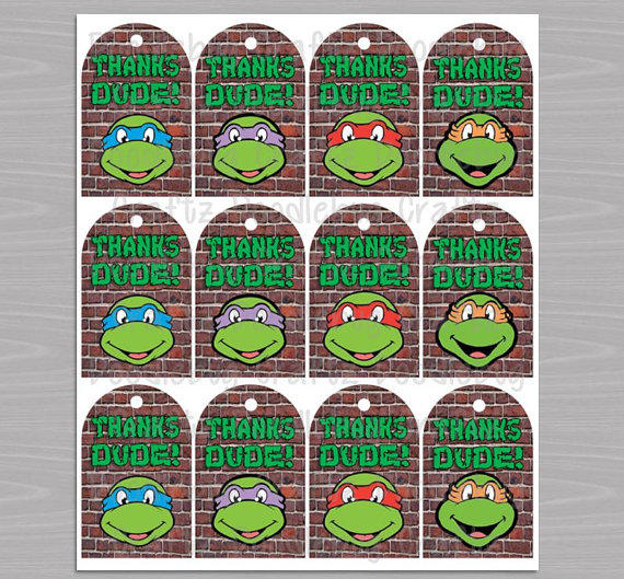 Etsy Ninja Turtle Invitations with luxury invitations layout