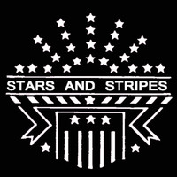 costume makeup: stencil stars stripes stainless