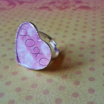 xoxo - Adjustable Ring for trendy girl