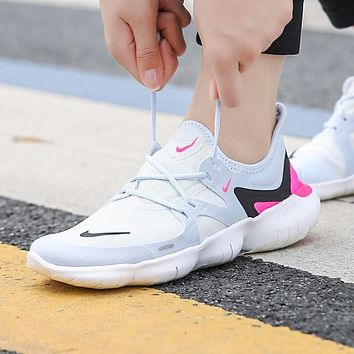 Nike Free RN 5.0 Fashion Women Casual Breathable Running Sport Shoes Sneakers