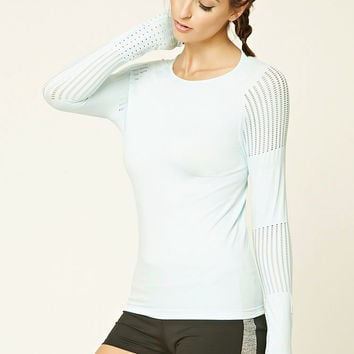 Active Bodycon Mesh Top