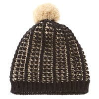 Nine West: Popcorn Knit Beanie Hat