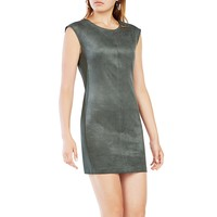 BCBGMAXAZRIAKarlee Faux-Suede Shift Dress