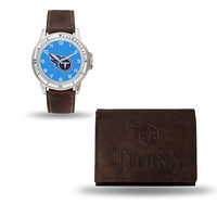 Tennessee Titans NFL Watch and Wallet Set (Niles Watch)
